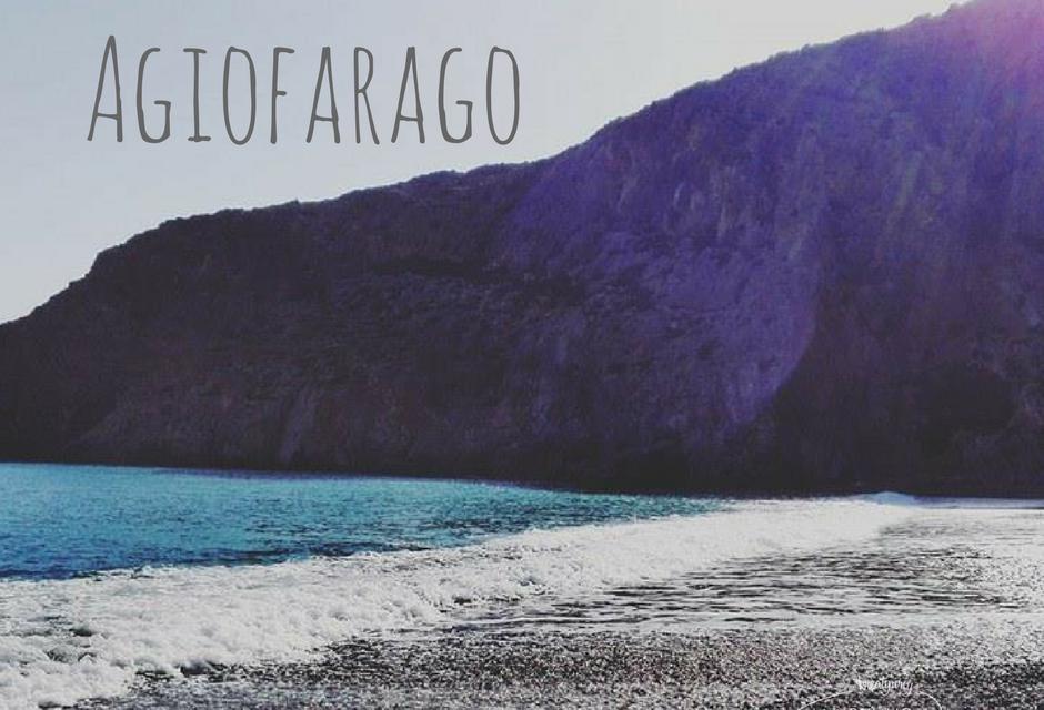 Agiofarago – kozy, skręty, wąwóz i plażowanie