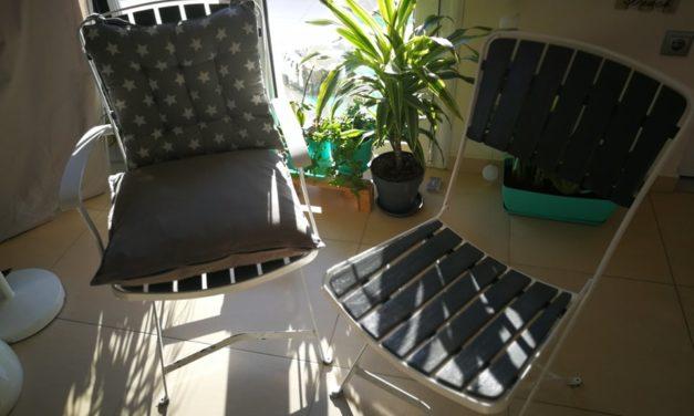 Krzesła jak malowane